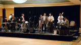 Sound check with the Boilermakers and Campus Five