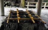Temizuya - Water Cleansing of hands and mouth at Shinto Ise Jingu 149.jpg