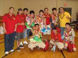 Senior Night-Coaches and Seniors