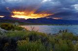 Fire Over Mono Lake