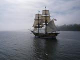 The Hawaiian Chieftain Sails Away