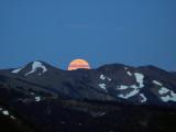Olympic Mountain Moonrise