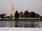 Morning Snow in Idaho Falls