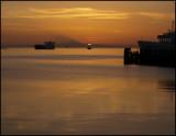 Sunrise at Port Angeles Harbor