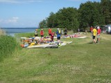 Sandösunds camping start och mål