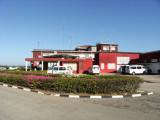 Outside domestic terminal.