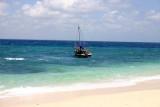 Beached on birthday  island.