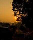 Sunrise At Kate Wolf Festival