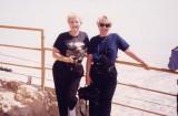 Barb and Jan - Israel 1996 Trip