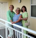 Jan, Annie, Bebe - Myrtle Beach '06