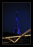 The Tower in blue