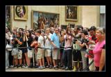Facing Mona Lisa