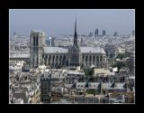Notre Dame and Beaubourg - Paris