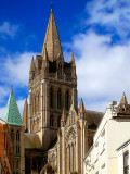 Back of Truro Cathedral, Cornwall