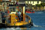 Dartmouth ~ lower ferry nearing Kingswear