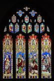 Stained glass, St.George's, Hinton St. George
