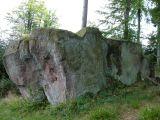 Roche solaire en forêt de Wisches