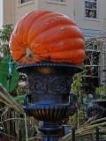 It's the giant pumpkin!