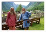 From the viking-village in Gudvangen