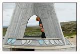 Eva,Kevin and Jonas at the arctic circle