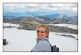 Linda at the top