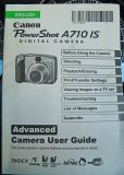 New  A710 IS By Canon