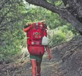 Pack Of A Thru-Hiker 70's Style. ( April 1977)
