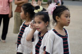 Child dancers, Chiang Mai