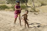 Children at Finke Two Mile