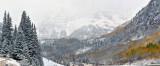 Maroon Bells - Foggy Peaks