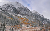 CO - Snowmass Area - Snowy Fall Color 7