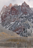 CO - Snowmass Area - Snowy Fall Color 9