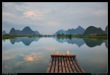 Bamboo Rafting at Sunrise