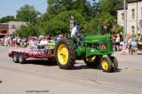 antique tractor  John Deere of course