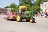 antique tractor  John Deere