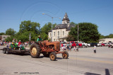 antique tractor  1890's courthouse  (old for here)