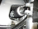 New rear shock installed