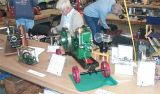 (08)  my Fuller & Johnson and Earl Wilms with his Mery engine