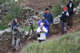 Group of birders in Extremadura