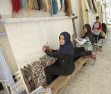 Kids making carpets