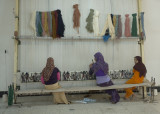 Girls making carpets II
