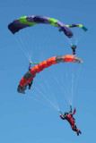 The Skydivers at the Ballunar Festival 2009