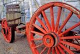 Twenty mule team wagon, Death Valley National Park, CA