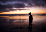 Stupendous Sunsets at the beach in Carmel, California