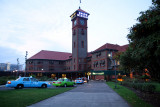 Station at Dusk