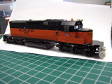 SD40-2 Modeling Project: EMDX 6303