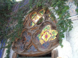 Church window at Mi Casa