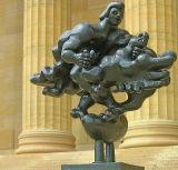 Prometheus Strangling the Vulture7398