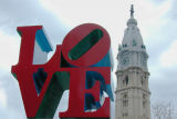 Love and Philadelphia City Hall