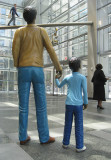 Humanity in Motion In the Comcast building
